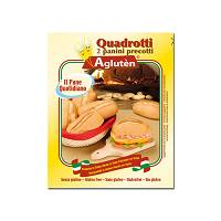 AGLUTEN Pane Quotidiano Quadrotti 180 g