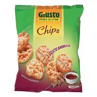 GIUSTO S/G CHIPS BARBECUE 30G